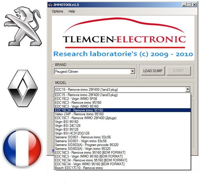 Immo Tool - программное обеспечение для ремонта и кодирования иммобилайзеров