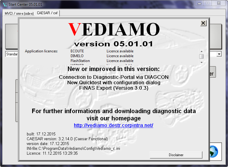 MERCEDES VEDIAMO 5.01.01 + KEYGEN + CFF CBF ФАЙЛЫ (New!)